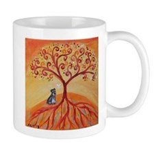 Schnauzer Tree of Life Mugs