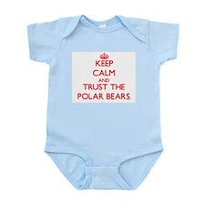 Keep calm and Trust the Polar Bears Body Suit