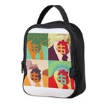 Dollar collar Neoprene Lunch Bag