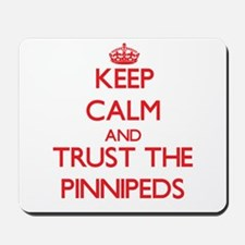 Keep calm and Trust the Pinnipeds Mousepad