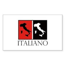 Italiano: Red Black Decal