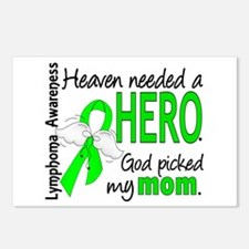 Lymphoma HeavenNeededHero Postcards (Package of 8)
