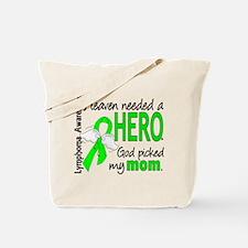 Lymphoma HeavenNeededHero1 Tote Bag