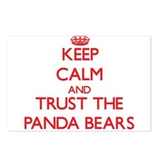 Keep calm and Trust the Panda Bears Postcards (Pac