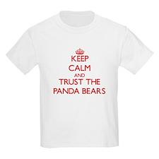 Keep calm and Trust the Panda Bears T-Shirt