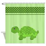 Cute Cartoon Turtle Shower Curtains