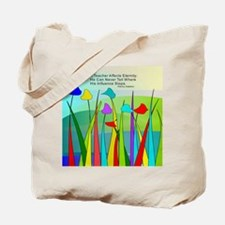 Teacher quote Blanket Tote Bag