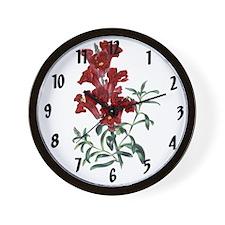 Paxtons Antirrhinum maus flore pleno Clock Wall Cl