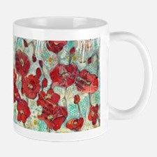 glowing Poppies Mugs