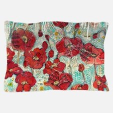 glowing Poppies Pillow Case