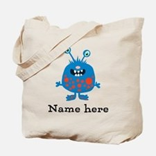 Blue Monster (p) Tote Bag