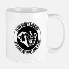 Team Honey Badgers Round Mugs