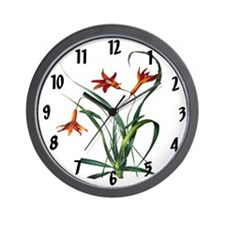 Paxtons Barbacenia squamata Clock Wall Clock