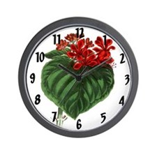 Paxtons Clerodendron infortunatum Wall Clock