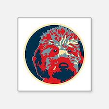 """Cute Obama dog Square Sticker 3"""" x 3"""""""