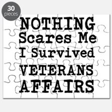 Nothing Scares Me I Survived Veterans Affairs Puzz