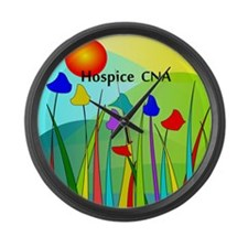 Hospice CNA Large Wall Clock