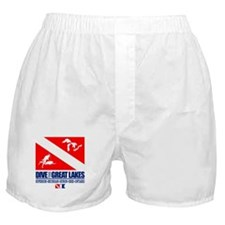 Dive The Great Lakes Boxer Shorts