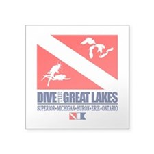 Dive The Great Lakes Sticker