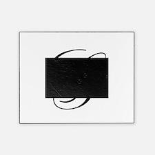 G Initial in Black Script Picture Frame