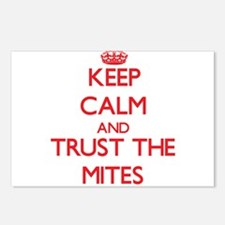 Keep calm and Trust the Mites Postcards (Package o