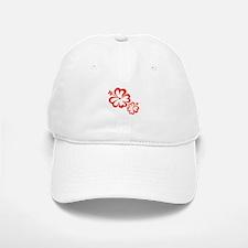 Red Hibiscus Flowers Baseball Baseball Baseball Cap