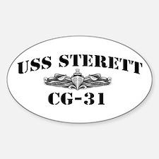USS STERETT Decal