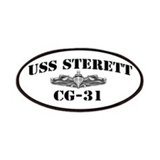 USS STERETT Patches