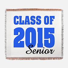 Class of 2015 (blue) Woven Blanket