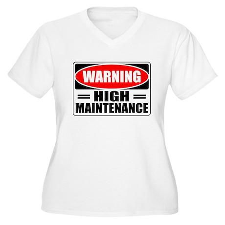 highmaintenance Plus Size T-Shirt
