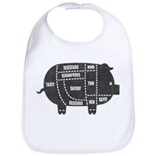 Pork Cuts III Bib