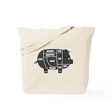 Pork Cuts III Tote Bag