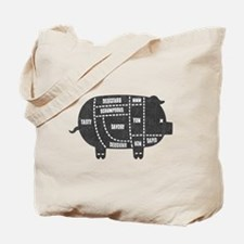 Pork Cuts III Tote Bag