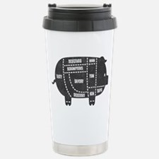 Pork Cuts III Stainless Steel Travel Mug