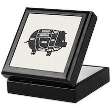 Pork Cuts III Keepsake Box