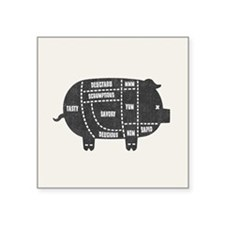 pork-chart-514-BUT Sticker