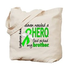 Lymphoma HeavenNeededHero1 Tote Bag