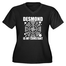 Cute Desmond my constant Women's Plus Size V-Neck Dark T-Shirt