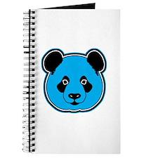 panda head blue 01 Journal