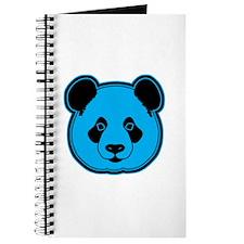 panda head blue 02 Journal