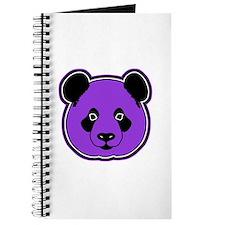 panda head purple 01 Journal