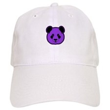 panda head purple 02 Baseball Cap