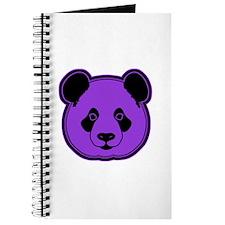 panda head purple 02 Journal