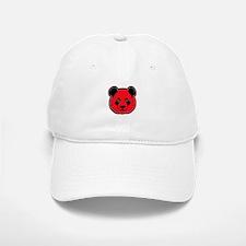 panda head red 01 Baseball Baseball Cap