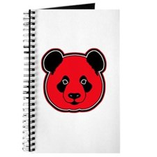 panda head red 01 Journal