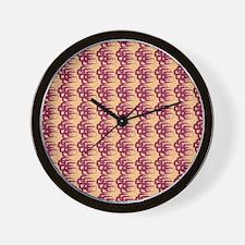 Jude's Pattern Wall Clock