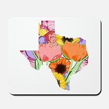 Floral Texas Mousepad