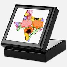 Floral Texas Keepsake Box