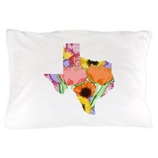 Floral Texas Pillow Case