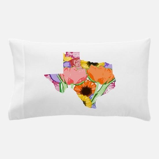 Floral Texas Pillow Case